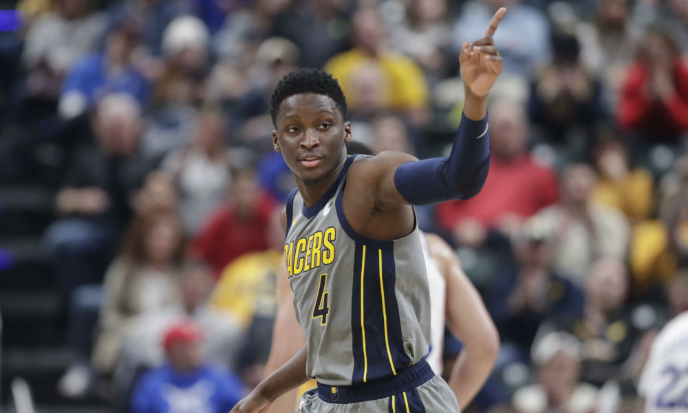 Victor Oladipo Pacers 2019 AP2