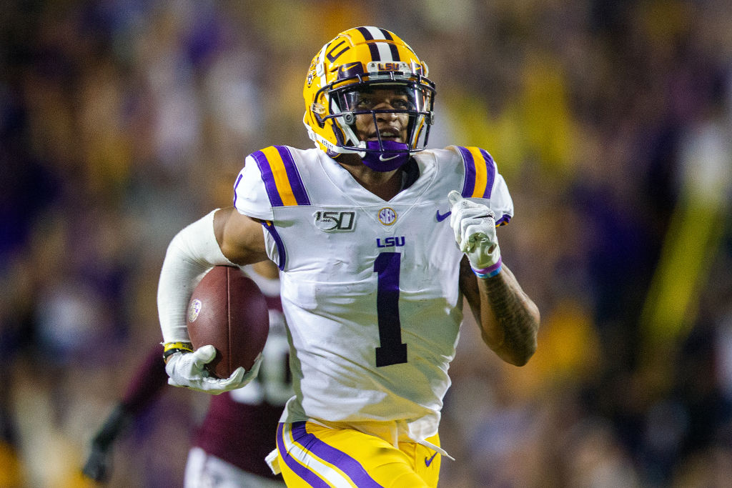 jamarr chase nfl draft player profile lsu wide receiver